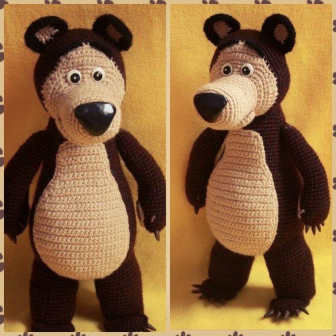 """Медведь из м\ф """"Маша и Медведь"""""""