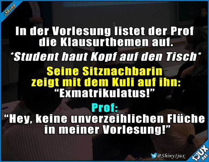 Prof weiß genau bescheid :)