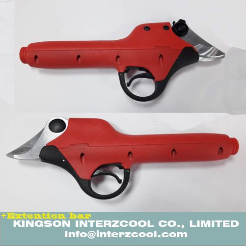 44V SCA5 NEW electric pruning shear and electric pruner from kingson interzcool co., limited and website is www.interzcool.com