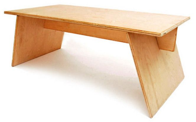 Plywood Coffee Table by Andy Lee Design