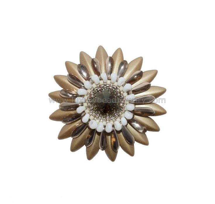 Luxury Gold Bead Pendant Unique Gerbera Style https://goo.gl/lTVtsR  Nice weather today, we like the sun and you?