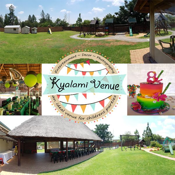 Kyalami party venue was born April 2012 of a preschool parent wanting a space for her little one's first birthday. We rallied together, waved our magic wand and the outdoor lapa transformed into the ideal venue for children's parties!