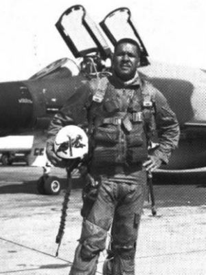 """First Black General  Gen. Daniel """"Chappie"""" James Jr.: The Tuskegee Airman was the first African American to become full general and achieve four stars. Upon being promoted to general, he was named commander of the North American Air Defense Command, which made him responsible for all aspects of defense for the United States and Canada."""