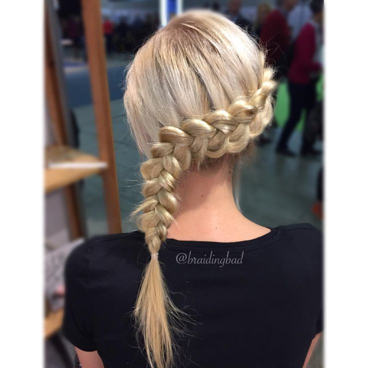 #dutchbraid  . . #hollantilainenletti #braidinghair #braidideas #instabraids #lettikampaus #trenzas #hairdo #peinados #plaitedhairdontcare…