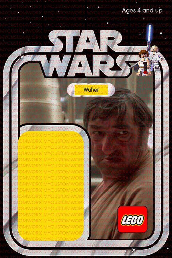 Lego Card Back Version 2 Custom Star Wars Vintage 12-Back BoShek