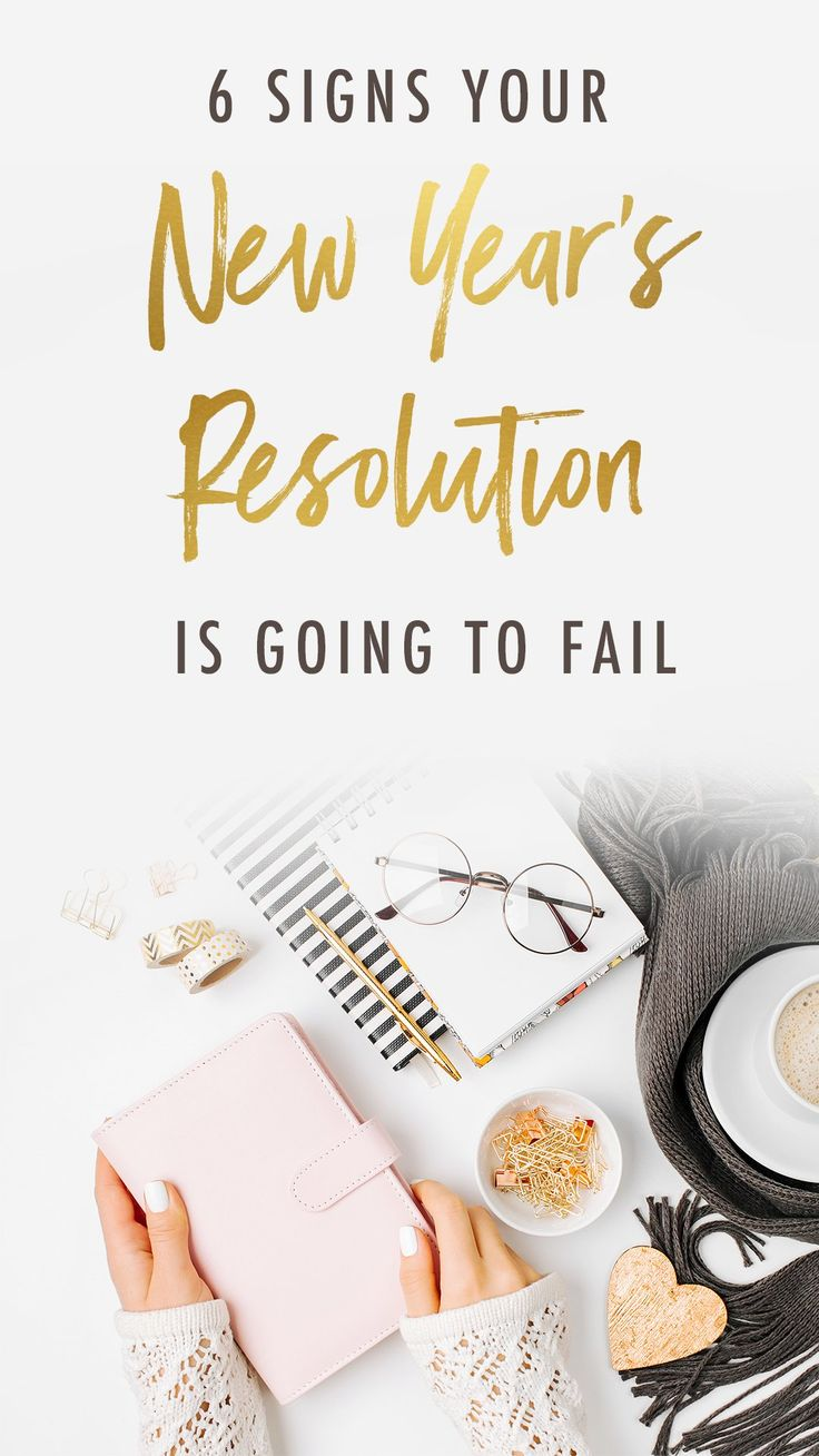 Are you New Year's resolutions doomed to fail? Here are a