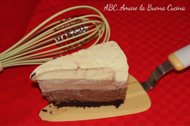 Italian Triple Choc Mousse CAKE! MMMMM
