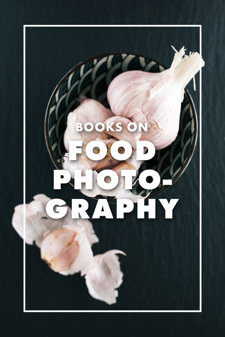 Great books on food photography / ebay