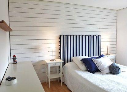 Klä in vägg med liggande panel - Så gör du!