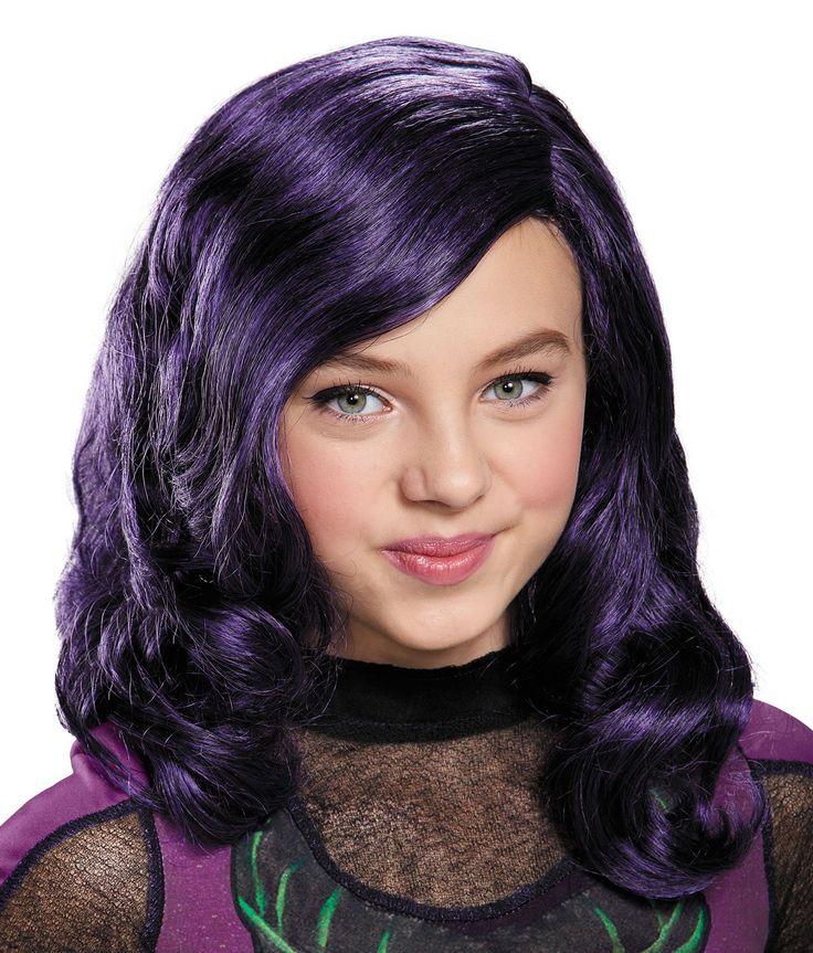 Disney's Descendants: Girls Mal Wig from Buycostumes.com