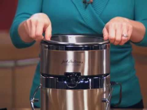 Jack LaLanne's Power Juicer Pro - Cleaning.