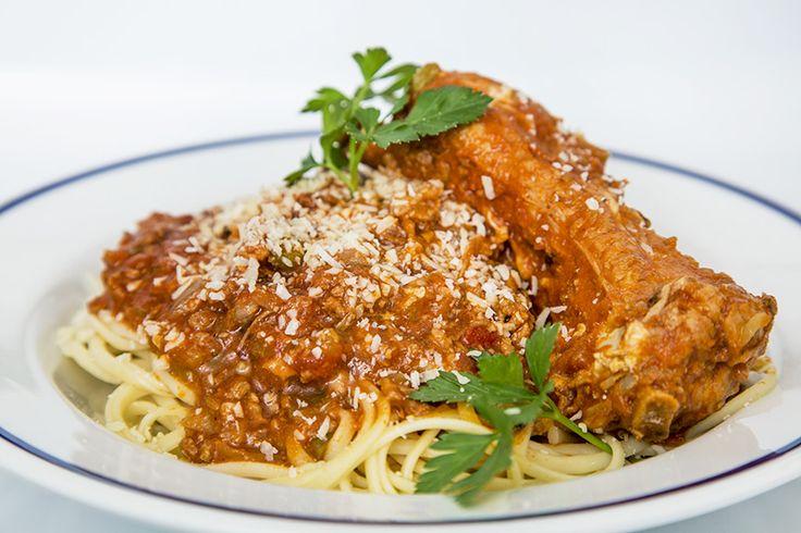 Sauce à spaghetti aux côtes levées de dos de porc #recettesduqc #souper #sauce #porc