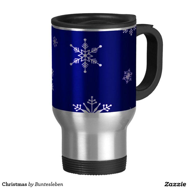 Christmas Edelstahl Thermotasse