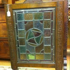 craftsman fireplace screen diy   Mission style stained glass fireplace screen...way out of my price ...