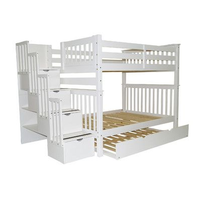 Features Mission Style Child Safe Bunk Bed Model Has Been