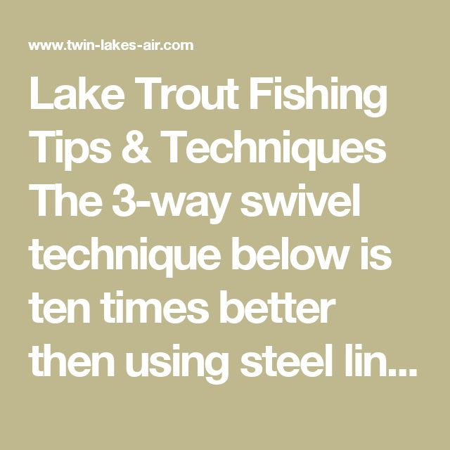 17 best ideas about trout fishing tips on pinterest for Lake trout fishing tips