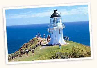 Cape Reinga NZ ... from here the spirits travel <3