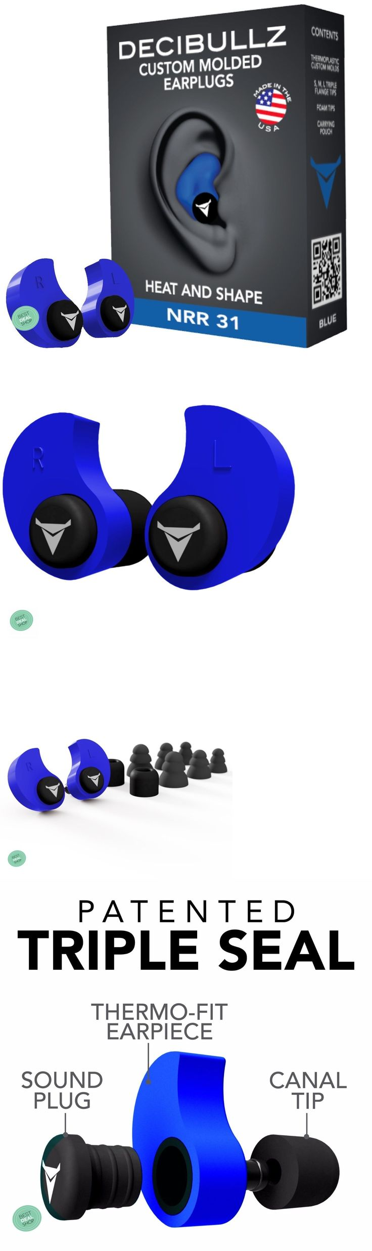 Ear Plugs: Sleeping Earplugs Ear Muffs Plugs Anti Noise Hearing Protection For Shooting -> BUY IT NOW ONLY: $38.99 on eBay!