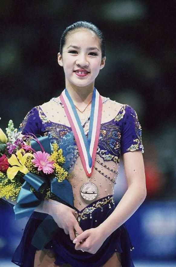 Michelle Kwan had the best figure skater fashion: http://intothegloss.com/2014/02/figure-skater-costumes/