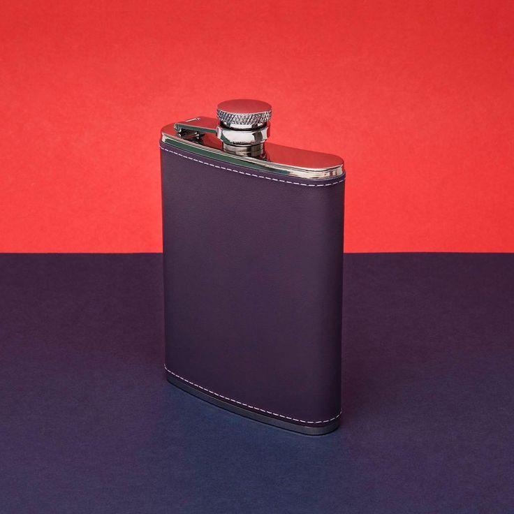 Ettinger London - Luxury Leather -A purple flask for a winter tipple • #flasks #hipflasks #crafstmanship #stainlesssteel #britishmade #toeachtheirown #purple #purpleleather #royalwarrant #popart #popofcolour #ettinger #ettingerlondon