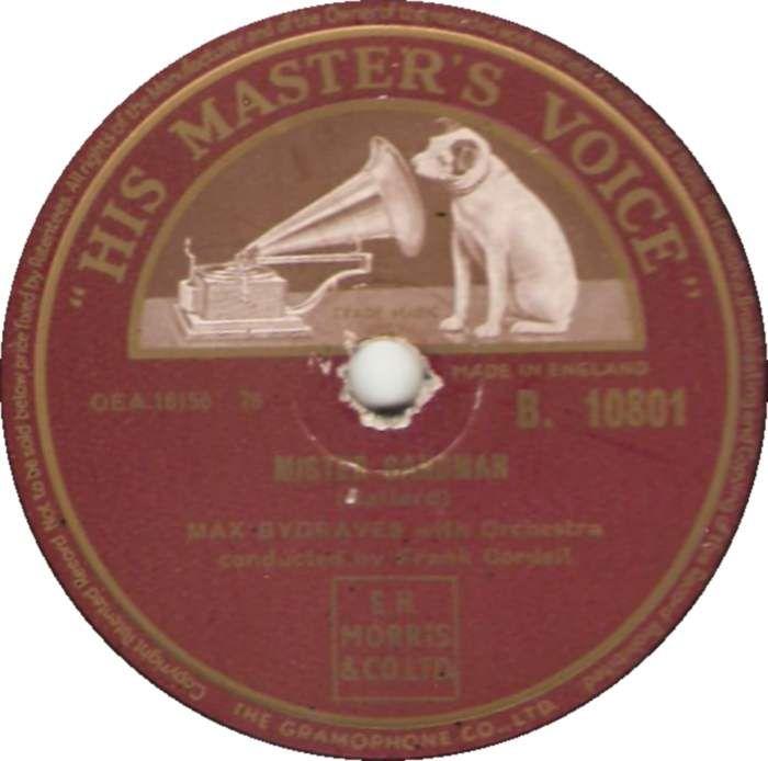 Max Bygraves - Mister Sandman (His Master's Voice) No.16 (Jan '55) > http://redmp3.su/1951566/max-bygraves-mister-sandman.html