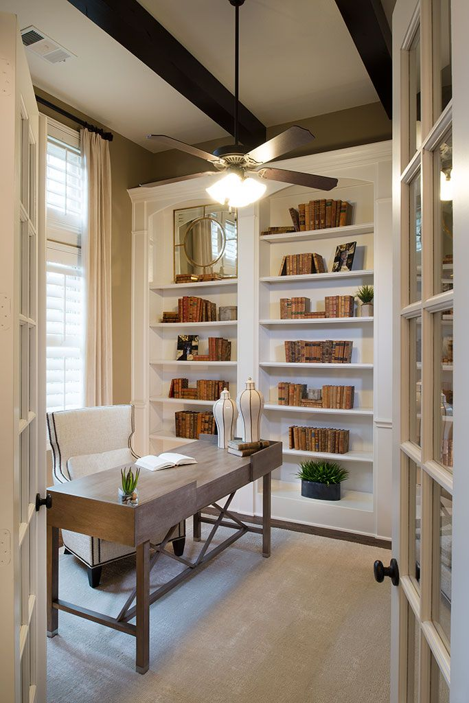 Elements of a dream office  Built ins  high ceilings  big windows and  gorgeous furniture  Check and check  Highland Homes. 63 best images about Home Offices on Pinterest   Parks  Home and Lakes