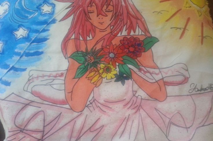 Pintura anime en Acuarelas
