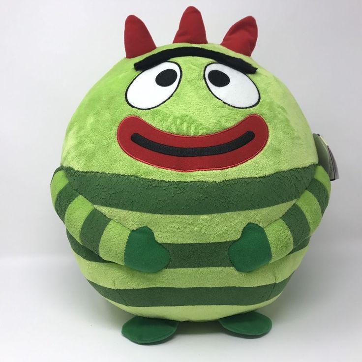 "Ty Beanie Ballz Brobee Plush Stuffed Animal Toy Yo Hanna Hanna 2013 35"" Center #Ty"