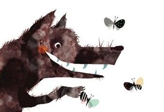Un lobo feroz de Michiko Tachomoto.