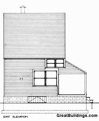 Great Buildings Drawing - Trubek House