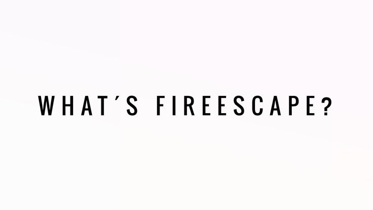 ⚠️ Sunday 20th at 16h00 you will finally know what FIREESCAPE·NYC is about.