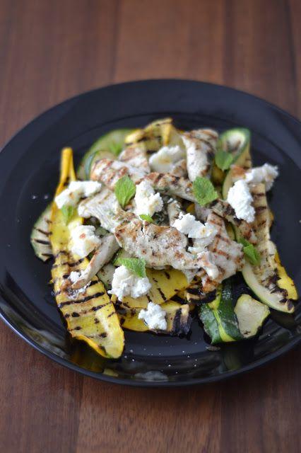 Salade de courgettes et de poulet grillés - Tried it, Loved it!