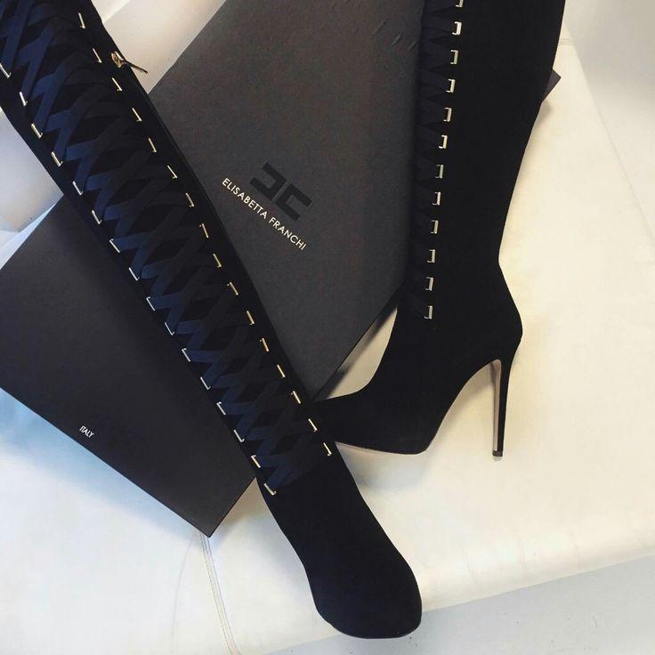 Overknee laarzen van Elisabetta Franchi?