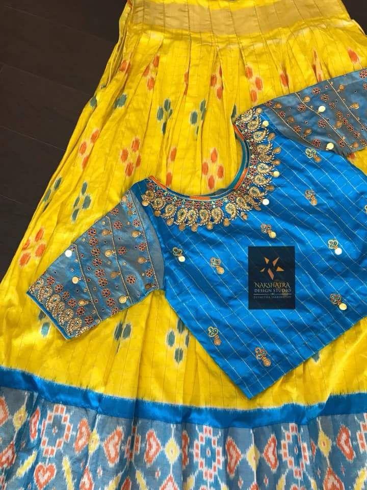 af600f59ff046 Pin by Lakshmi Donepudi on Nakshtra blouse designs in 2019