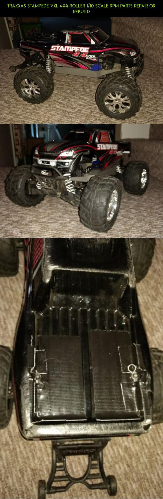 Traxxas Stampede VXL 4x4 Roller 1/10 scale RPM parts repair or rebuild #traxxas #stampede #technology #parts #parts #fpv #shopping #tech #gadgets #plans #kit #racing #products #camera #drone