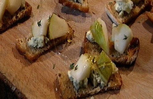 1000 images about canap ideas on pinterest for Blue cheese canape