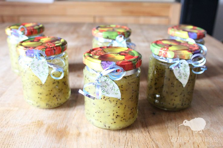 Kiwi-Apple marmalade Recipe