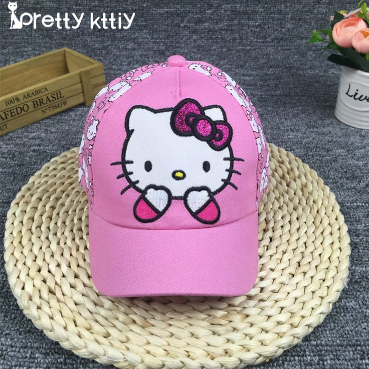 $4.05 (Buy here: https://alitems.com/g/1e8d114494ebda23ff8b16525dc3e8/?i=5&ulp=https%3A%2F%2Fwww.aliexpress.com%2Fitem%2FNew-Baseball-Cap-Kids-Baby-Girls-Adjustable-Caps-Fashion-hello-kitty-Minnie-Children-Hats-bone%2F32784884356.html ) PRETTY KITTY 2017 New snapback Summer  Baseball Cap Kids Baby  Girls Adjustable Caps Fashion hello kitty Minnie Children Hats  for just $4.05