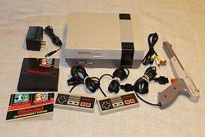 Nintendo NES System Console w Super Mario Bros Duck Hunt New 72 Pin 0045496610050 | eBay US $124.99