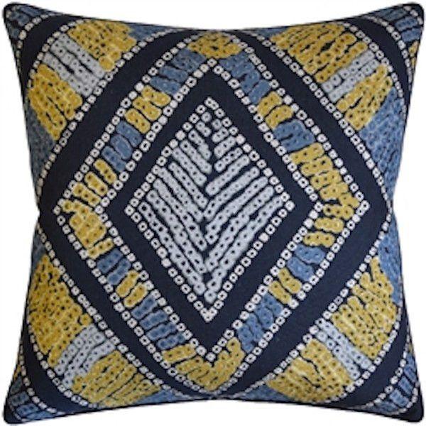 Javanese Denim Pillow