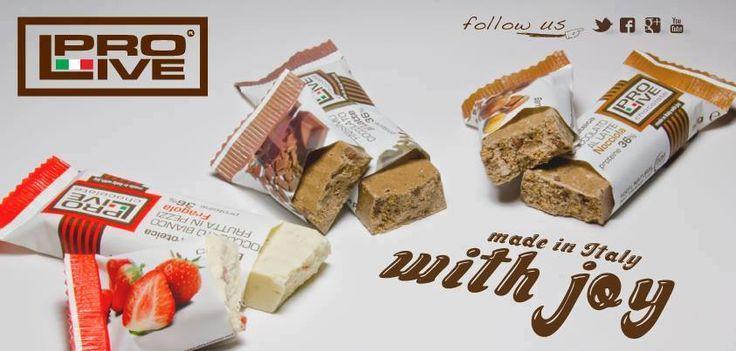 La qualità della nostra vita è determinata dalla qualità delle nostre scelte. Visita www.prolive-nutrition.it