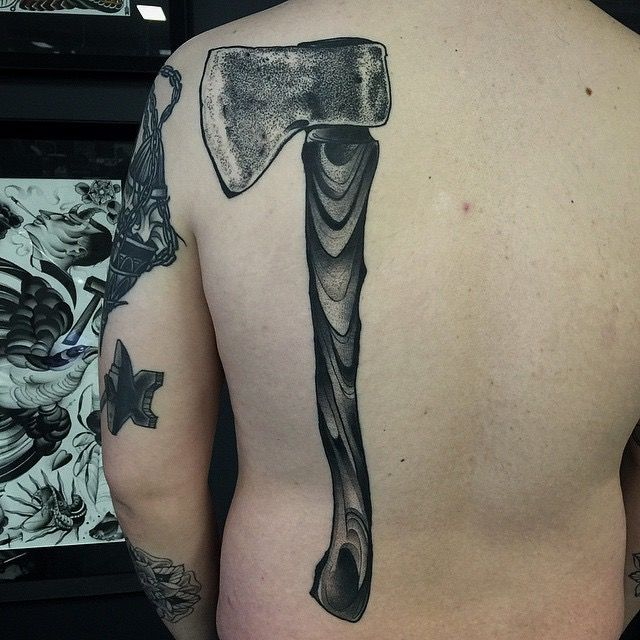 240 best images about inked soul tattoo ideas on for Butcher knife tattoo