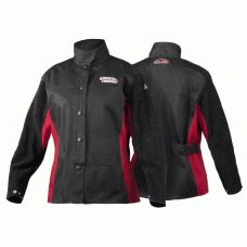 Now all of you women can weld in comfort and style with Lincoln Electric Jessi Combs Women's Shadow FR Welding Jacket (Various Sizes)! They are specially made for women! And even better..... they are on sale!! Check it out!