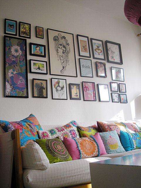 I NEED a wall of frames...