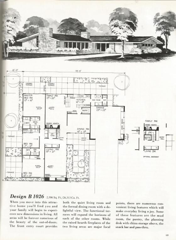 73 best images about 1 contemporary mid century modern for Modern raised ranch house plans