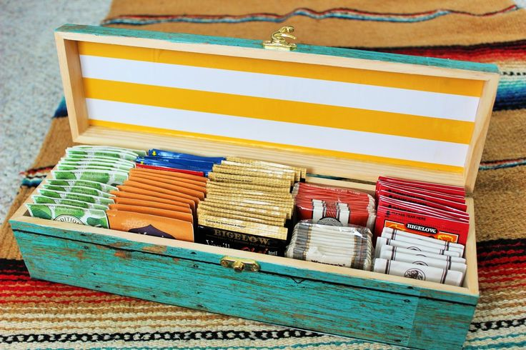 Make a Tea Box DIY