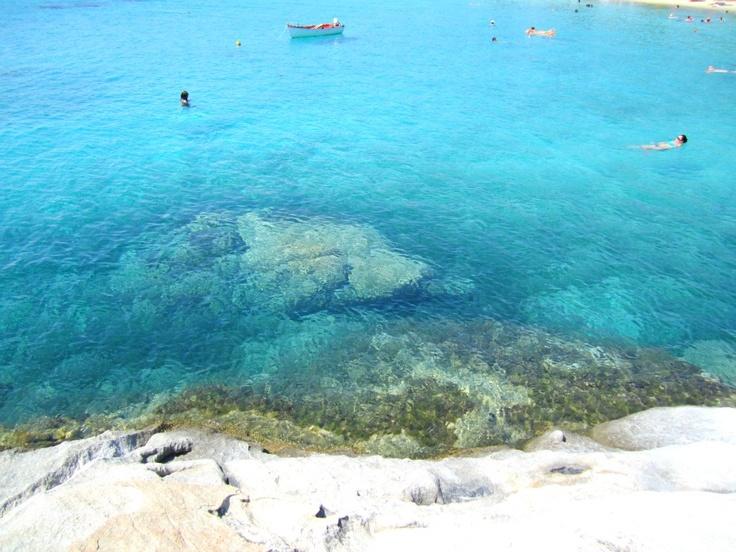 Calogria beach, Nikiti, Greece