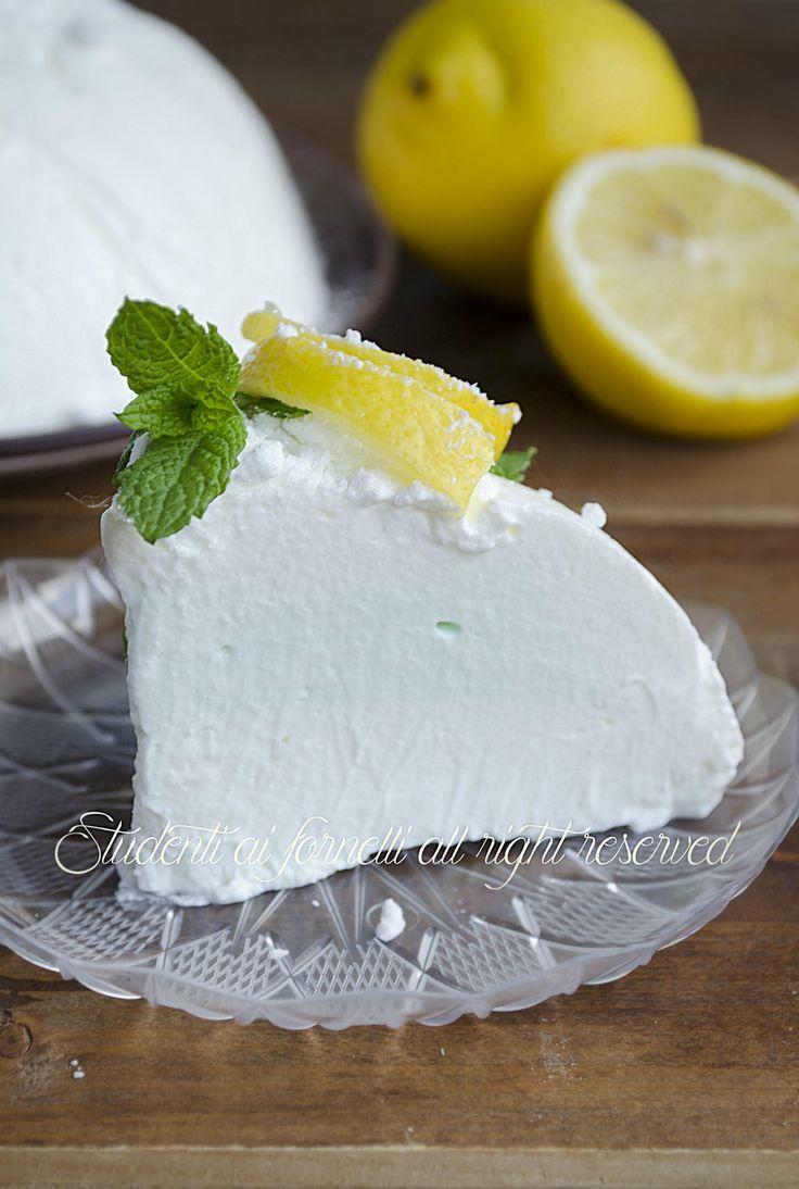 spumone al limone e menta ricetta semifreddo sorbetto fatto in casa veloce