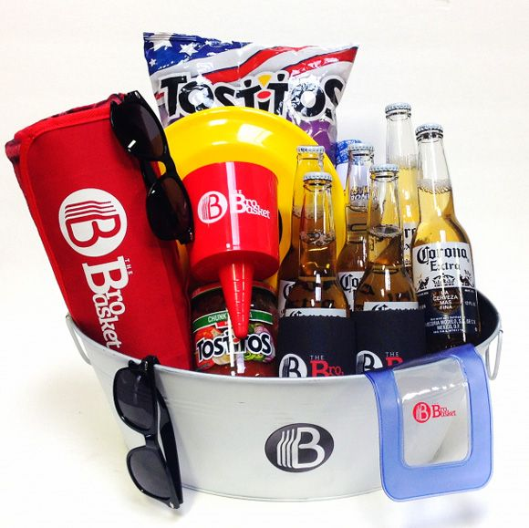 What are most beach gift baskets missing? Beer! Not this one, it comes with some cool beach gear & their favorite beer to be enjoyed at the beach.