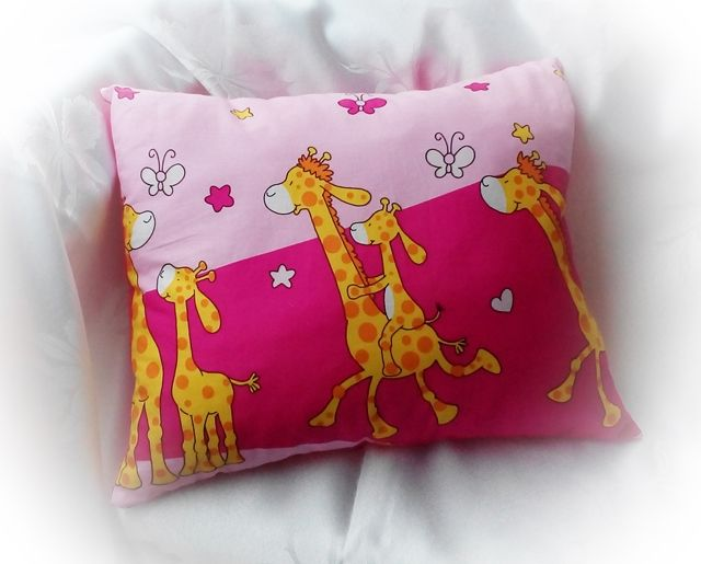 Výrobky z textilu: Vankúšik ružový